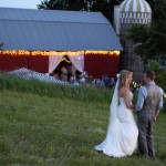 a charming farm wedding.