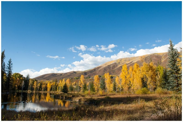 Hallam lake aspen wedding