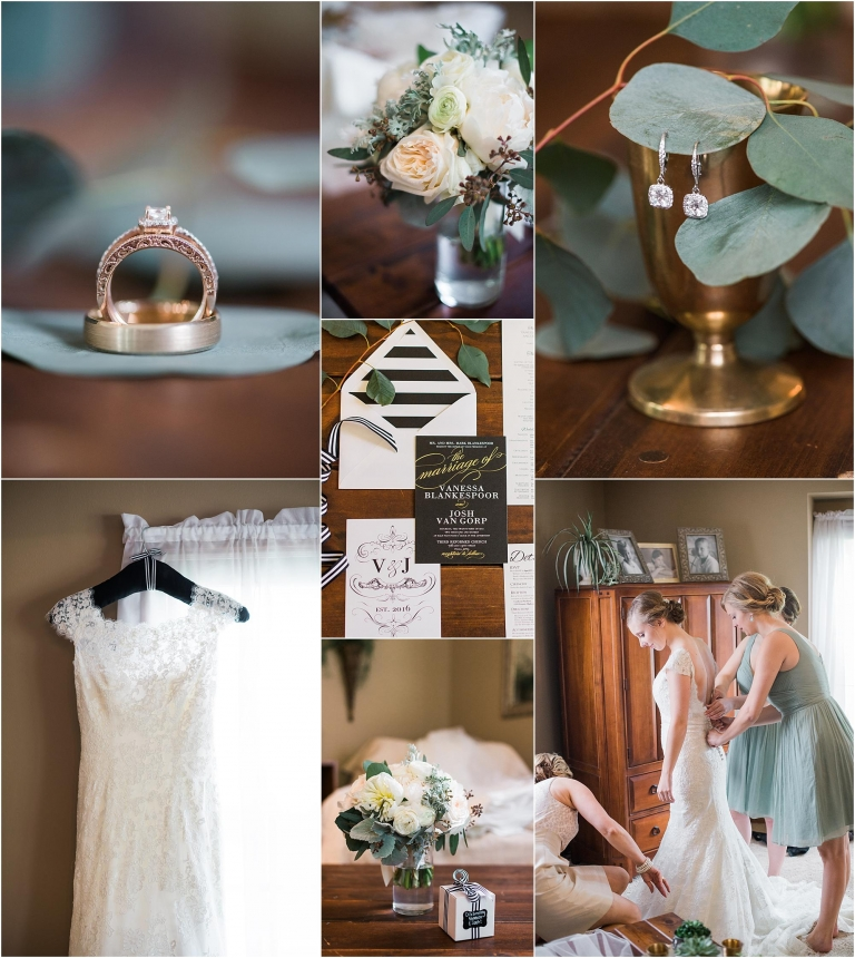 Ivory And Sage Green Wedding Color Palette