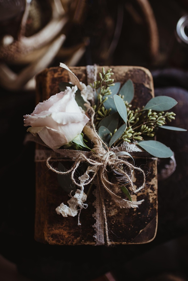 Floral Inspiration, Moody Florals, unique wedding packaging