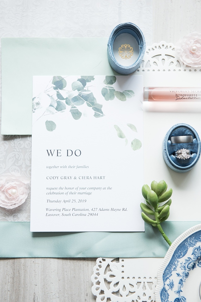 Blue and silver wedding, Wavering Place Wedding in  Easley South Carolina by The Wedding Click